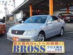 新潟県の中古車ならクラウン ロイヤルサルーン 関東仕入 パワーシート コーナーセンサー