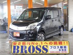 新潟県の中古車ならソリオ S 両側パワースライドドア スマートキー アルミ エアロ