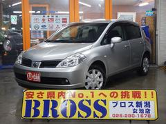 新潟県の中古車ならティーダ 18G HDDナビ フルセグ スマートキー パワーシート