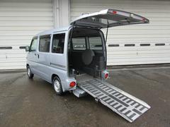 新潟県の中古車ならクリッパーバン 4WDスローパー4人乗り 福祉車両 チェアキャブ