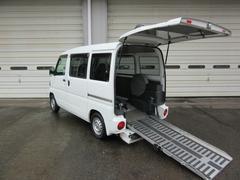 クリッパーバン4WD スローパー 4人乗り 福祉車両