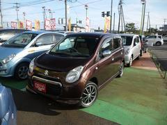 新潟県の中古車ならアルト F 社外HDDナビ 社外タコメーター