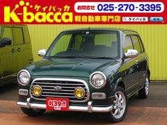新潟県の中古車ならミラジーノ ミニライトスペシャル 社外ナビ TV 純正AW レザーシート