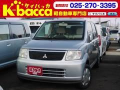 新潟の中古車 三菱 eKワゴン 車両価格 23.8万円 リ済別 平成17年 7.2万K シルバー