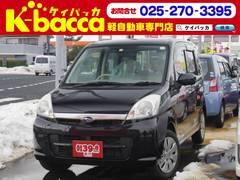 新潟の中古車 スバル ステラ 車両価格 26.8万円 リ済別 平成20年 9.8万K ブラック