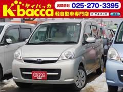新潟の中古車 スバル ステラ 車両価格 19.8万円 リ済別 平成20年 11.1万K ゴールド