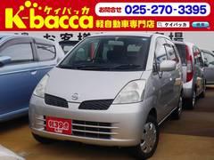 新潟の中古車 日産 モコ 車両価格 16.8万円 リ済別 平成16年 7.8万K シルバー