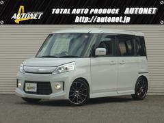 新潟県の中古車ならスペーシアカスタム XS RS☆Rローダウンweds16AWナビTViSTOP