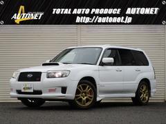 新潟県の中古車ならフォレスター STi Ver エアロPanasonicナビHID4WD