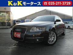 新潟の中古車 アウディ アウディ A6 車両価格 164万円 リ済別 2006年 3.6万K ブラック