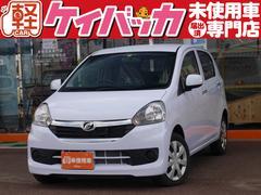 新潟県の中古車ならミライース Gf SA 4WD 届出済未使用車 スマートキー CDデッキ