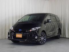 新潟県の中古車ならエスティマハイブリッド アエラス プレミアムエディション 4WD 7人乗り