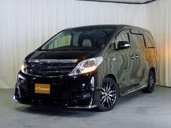 新潟県の中古車ならアルファードハイブリッド X 4WD 社外SDナビ フルセグTV