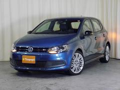 VW ポロブルーGTブルーモーション2014モデル 純正SDナビ TV
