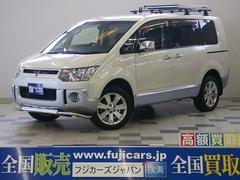 新潟県の中古車ならデリカD:5 シャモニー 4WD ツインモニター ワンオーナー クルコン