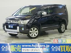 新潟県の中古車ならデリカD:5 G パワーPKG 4WD ツインモニター クルコン 7人乗り