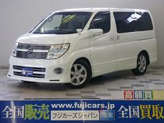 新潟県の中古車ならエルグランド HSブラックレザーED 4WD ツインモニター ワンオーナー