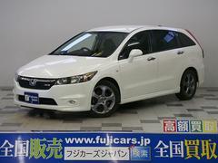 新潟県の中古車ならストリーム RSZ HDDナビ Bモニター パドルシフト 純正17AW