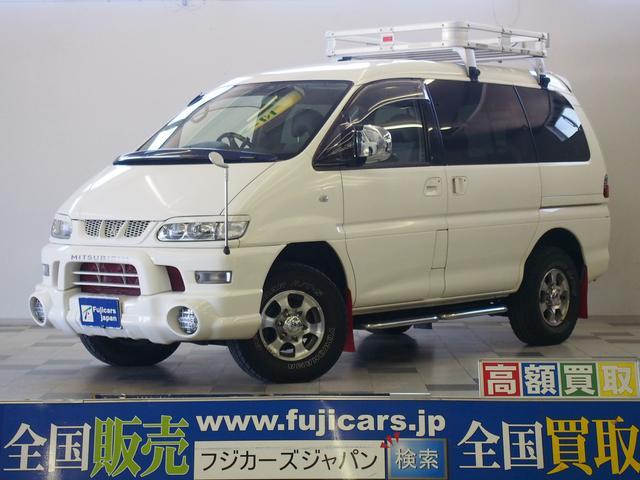 三菱 アクティブフィールドED 4WD ワンオーナー ルーフラック