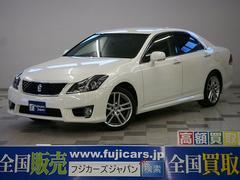 新潟県の中古車ならクラウン 2.5アスリート プレミアムED 本革 純正HDDナビ