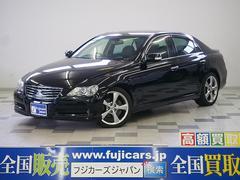 新潟の中古車 トヨタ マークX 車両価格 75万円 リ済別 平成19年 5.6万K ブラックM