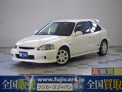 新潟県の中古車ならシビック タイプR 後期型 SDナビ タイベル交換済 無限マフラー