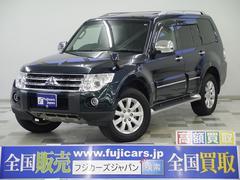 新潟県の中古車ならパジェロ ロング スーパーエクシード サンルーフ 黒革 ウッドコンビH