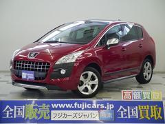 新潟県の中古車ならプジョー 3008 プレミアム ワンオーナー 社外SDナビ パノラマルーフ