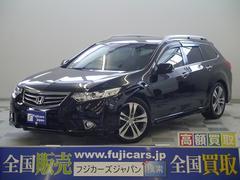 新潟県の中古車ならアコードツアラー タイプS ワンオーナー イルミスカッフプレート 地デジ