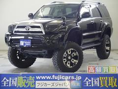 新潟県の中古車ならハイラックスサーフ SSR−G リフトアップ ワイドフェンダー 公認 イカリング