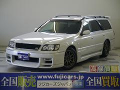 新潟県の中古車ならステージア オーテックバージョン260RS タイベル交換済 SDナビ