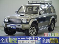 新潟県の中古車ならパジェロ ワイド エクシード 1オーナー ツインバッテリー リアラダー