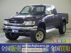 新潟県の中古車ならハイラックススポーツピック エクストラキャブ ワイド メッキバンパー エンジンスターター