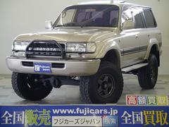 新潟県の中古車ならランドクルーザー80 VXリミテッド リフトアップ 構造変更済 前後デフロック