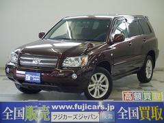 新潟県の中古車ならクルーガーハイブリッド Gパッケージ バックモニター 7人乗り キセノン ETC