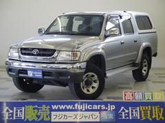 新潟県の中古車ならハイラックススポーツピック ダブルキャブ ワイド ARBキャノピー メッキバンパー