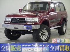新潟県の中古車ならランドクルーザー80 VXリミテッド リフトアップ 構変済 タイベル交換 クルコン