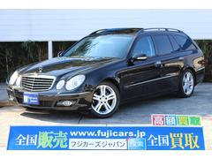 新潟県の中古車ならM・ベンツ E320 CDI AVG 黒革 サンルーフ Pリアゲート