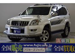 新潟県の中古車ならランドクルーザープラド TXリミテッド60thスペシャルED 本革 サンルーフ