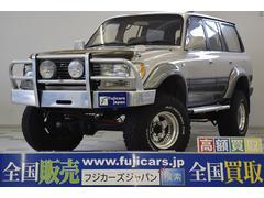 新潟県の中古車ならランドクルーザー80 VXリミテッド リフトアップ 構造変更 ガナドール 最終後期
