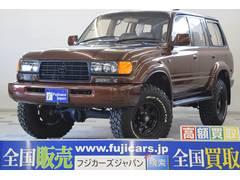 新潟県の中古車ならランドクルーザー80 VXリミテッド リフトアップ 構変済 全塗装 SDナビ
