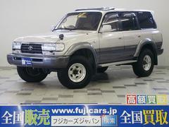 新潟県の中古車ならランドクルーザー80 VXリミテッド HDDナビ ABS 背面レス 最終後期
