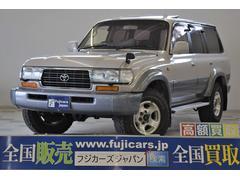 新潟県の中古車ならランドクルーザー80 VXリミテッド 本革 HDDナビ 背面タイヤレス 最終後期