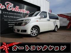 新潟の中古車 日産 エルグランド 車両価格 19万円 リ済別 平成15年 15.4万K ホワイトパール