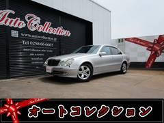 新潟県の中古車ならM・ベンツ E320 アバンギャルド ディーラー車 ハーフレザーシート