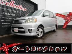新潟の中古車 トヨタ ノア 車両価格 9万円 リ済別 平成14年 13.9万K シルバーメタリック