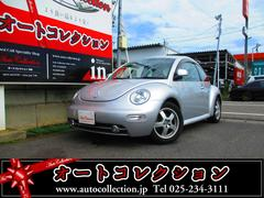 新潟県の中古車ならVW ニュービートル ディーラー車 純正アルミ キーレス エアバッグ ABS