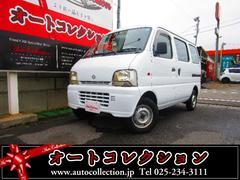 新潟県の中古車ならエブリイ PA 4WD タイミングチェーン車 両側スライドドア