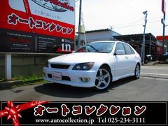 新潟県の中古車ならアルテッツァ RS200 Zエディション 6速 タイミングベルト交換済