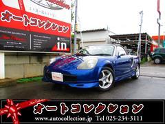 新潟県の中古車ならMR−S Sエディション タイミングチェーン車 ETC HID エアロ